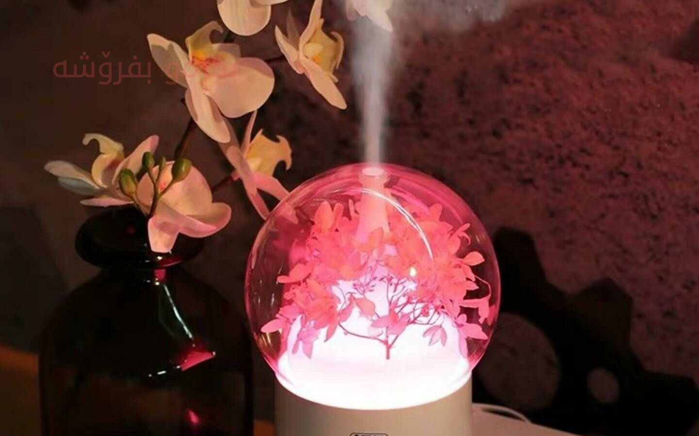 Remax purification humidifier flower fragrance lamp